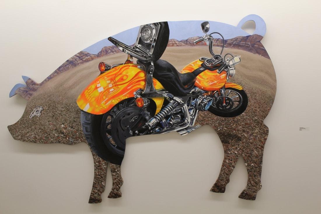 Jo Lemay Rutledge Pork Chopper Farm To Market Artspace111