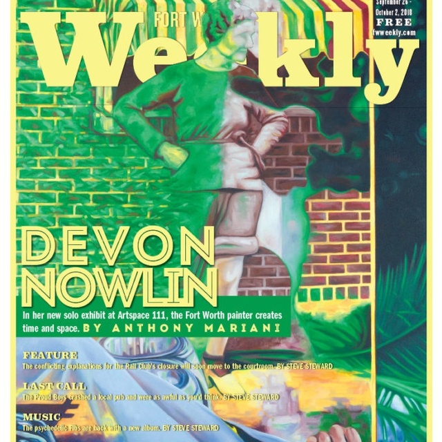 Devon Nowlin on the Cover of Fort Worth Weekly
